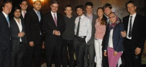 Ambassador of France Francois Delattre with ISH Residents