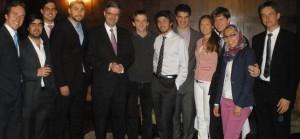 Ambassador of France Francois Delattre with ISH Residents
