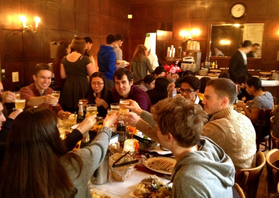 Thanksgiving at ISH. Photo by ISH Resident Josh Ettinger