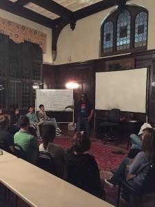 Haugh - Resident Salon #2 , Justice's Presentation