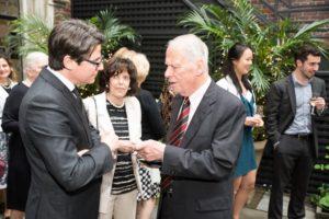 Ambassador Agius of Malta, Ambassador and Mrs. Walter Cutler - GP 2016